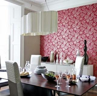 Desain Contoh Gambar Wallpaper Dinding Dapur Rumah Minimalis