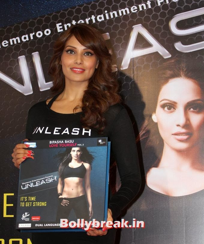 , Bipasha at Launch of unleash 3rd dvd