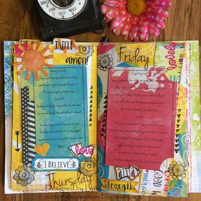 Believe Prayer Journal by Lynn Shokoples for BoBunny