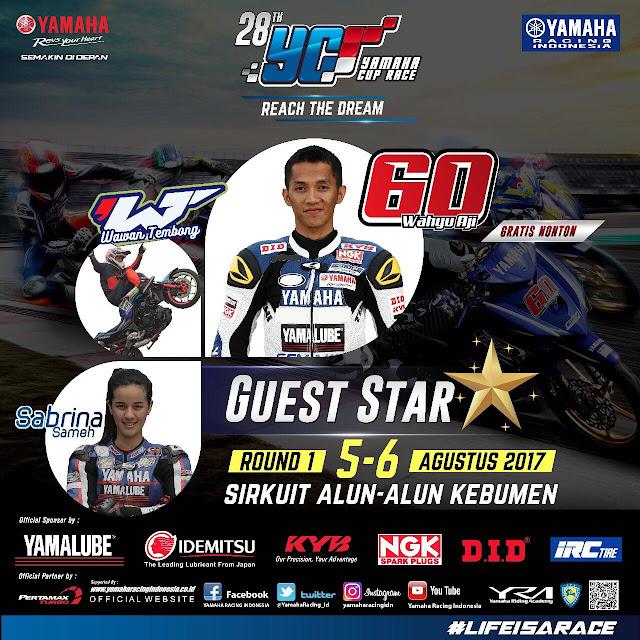 Yamaha Cup Race Perdana di Kebumen