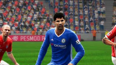 Chelsea 2016/17 [Home + GK]