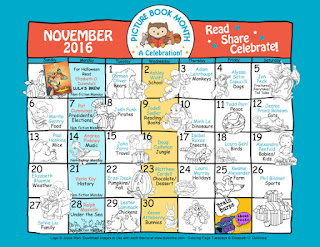Click the calendar and join in the daily picture book fun!