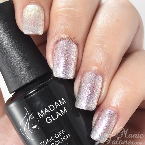 Madam Glam Gel Polish Fluorescent Lights Swatch