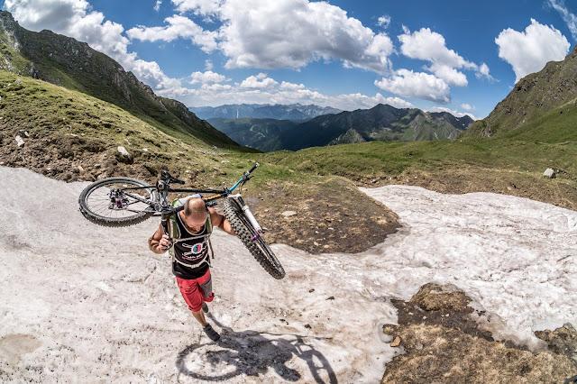 Seefeldspitze MTB Tour Vertrider BBS Bikebergsteigen
