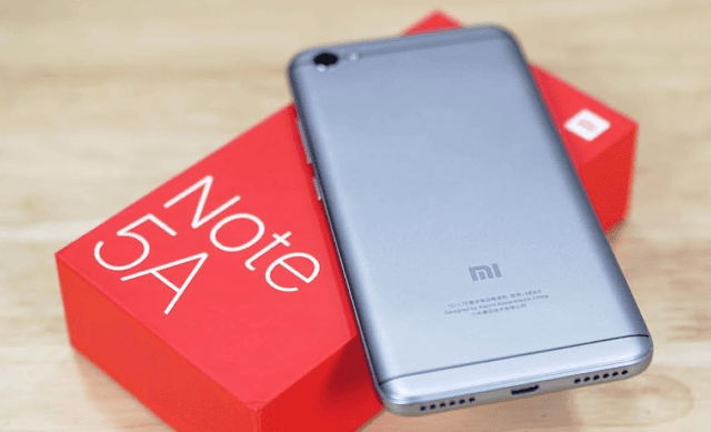 Cara Screenshot di Xiaomi Redmi Note 5A
