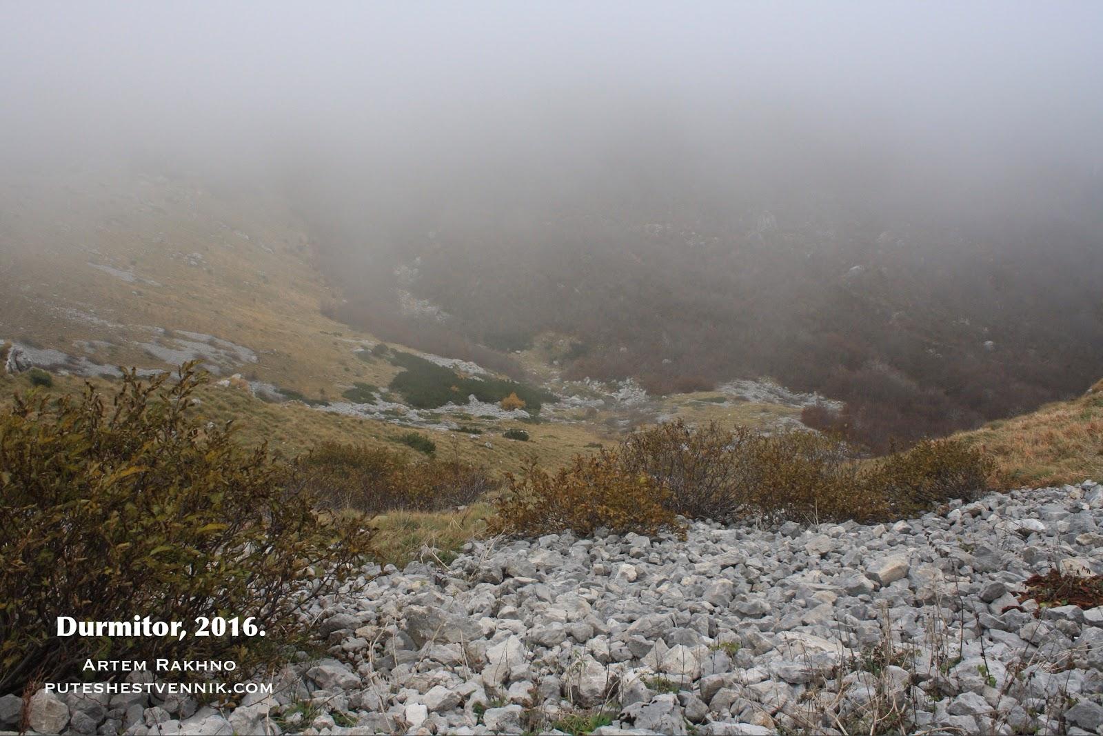 Туман в Дурмиторе