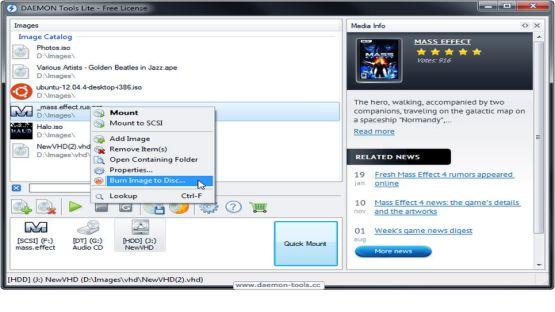 Daemon Tools Lite screenshot 4