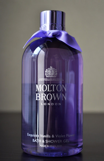 Forgiveness Is The Fragrance The Violet Sheds...Molton Brown Exquisite Vanilla & Violet Flower Bath & Shower gel