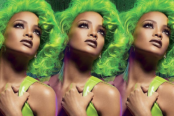 Rihanna in the new MAC Viva Glam campaign