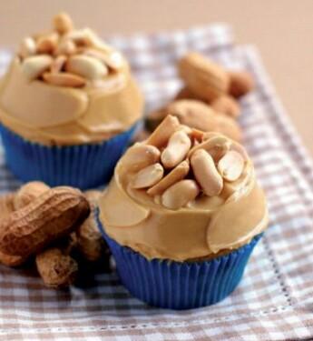 Cupcakes con cacahuetes