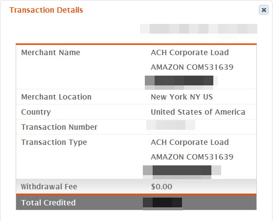 ทดสอบรับเงินจาก amazon associates ผ่าน Bank Of America