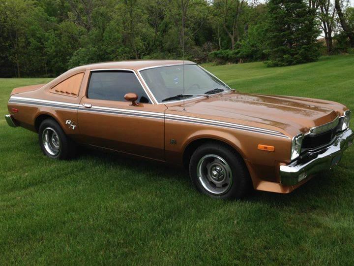 Daily Turismo Solid Gold 1976 Dodge Aspen R T