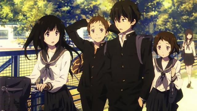 Anime dengan Karakter Utama Cool Hyouka
