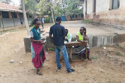 Malindi people casting their votes at Sir Ali Primary School. PHOTO | Courtesy