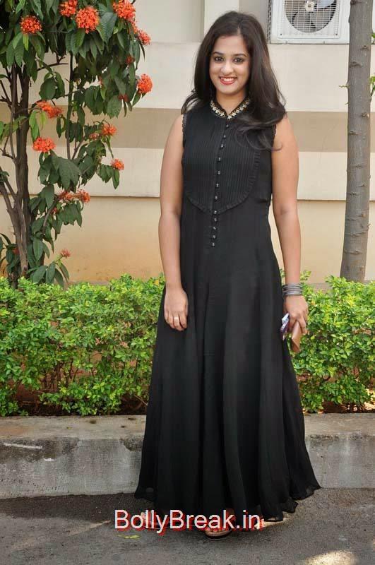 Nanditha Pics At Krishnamma Kalipindi Iddarini Movie Press Meet, Nanditha Hot Pics In Black Dress from Movie Krishnamma Kalipindi Iddarini Shooting Spot