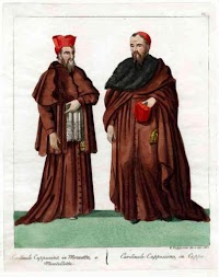 Prelatial Dress of the Religious Orders: The Capuchins