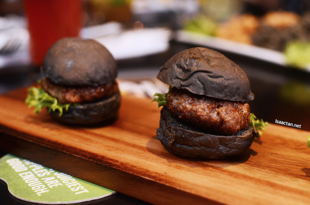 Trio of mini burgers - RM24 (Beef), RM26 (Lamb)