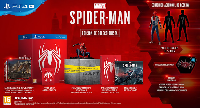 Sony anuncia PlayStation 4 Pro Marvel's Edition