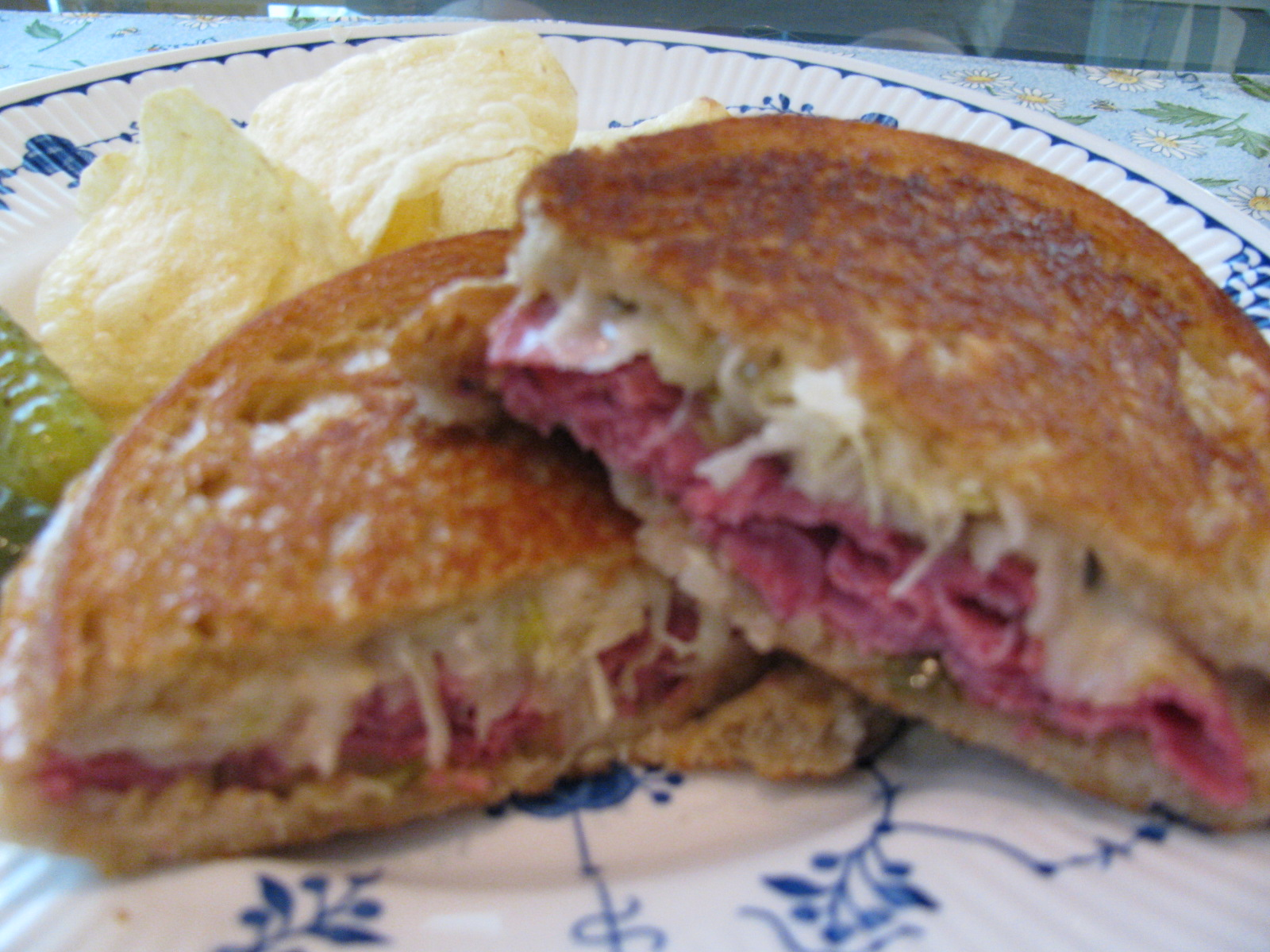 Rita's Recipes: The Reuben Sandwich with Homemade 1000 Island Dressing