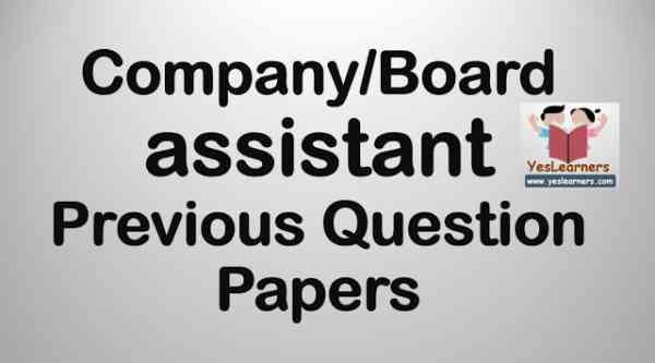 Previous Questions Company Assistant