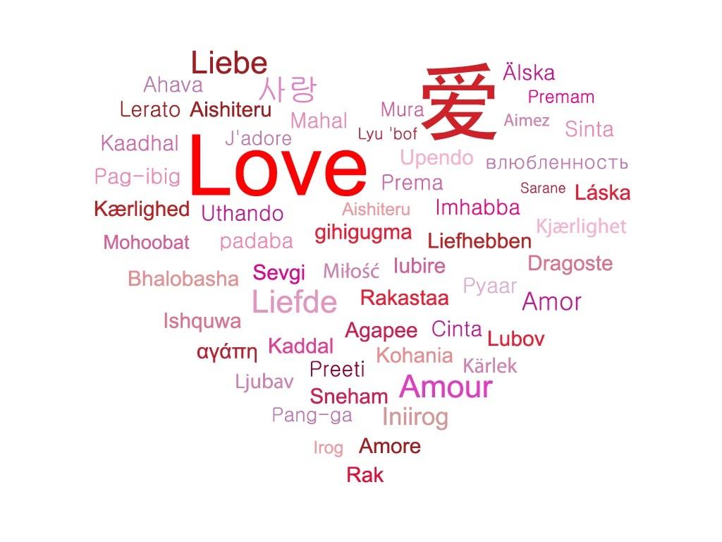 Картинки со словами о любви по английский
