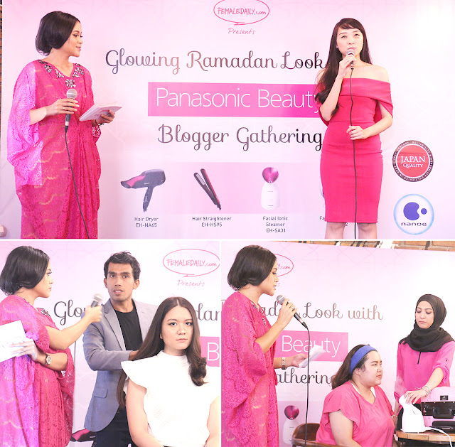 Glowing Ramadhan Look with Panasonic Beauty Event