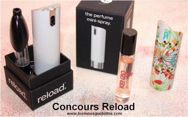 Résultat Concours Reload sur le Blog Beauté Les Mousquetettes©
