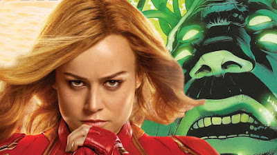 Captain Marvel Meets With Supreme Intelligence In New Movie Clip