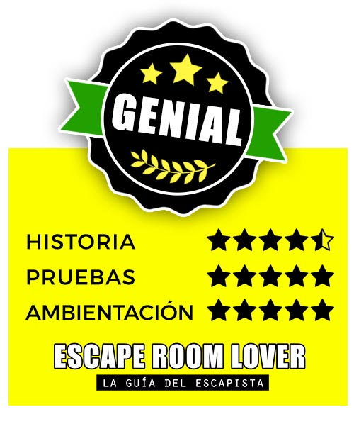 The Rombo Code - Tras el espejo - Escape Room - Opiniones