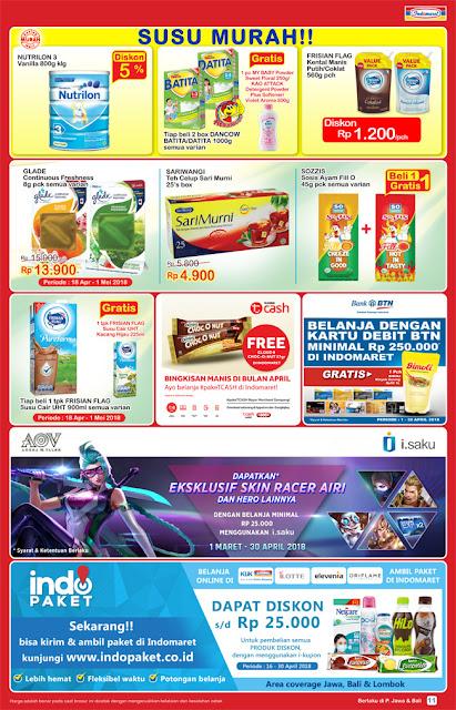 Katalog Harga Promo INDOMARET Super Hemat 18 - 24 April 2018