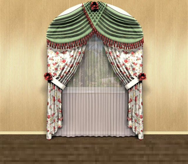 luxury curtains for arched window treatment