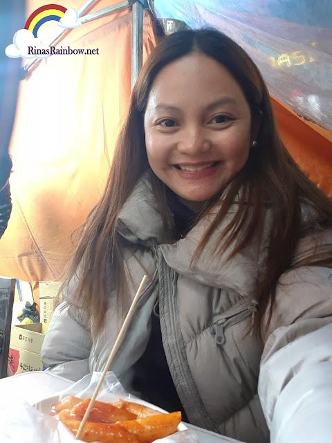 food tent in Seoul