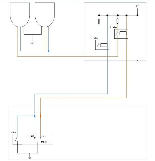 3 Jenis Rangkaian Lampu Kepala Pada Mobil dan Motor - AutoExpose on