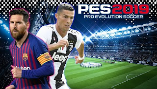 Download PES 2019 v6 English Versions ISO Texture + Savedata New Update