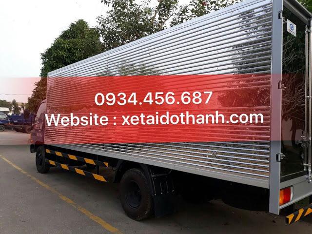 Thùng kín xe tải HD120sl Đô Thành 8 tấn