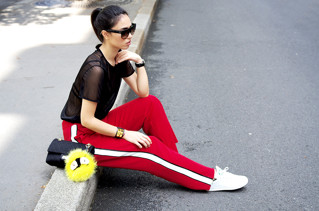 Elizabeth l Red alert outfit l Asos Stan Smith Missguided Chanel blog mode l THEDEETSONE l http://thedeetsone.blogspot.fr