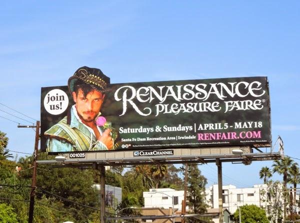 2014 Renaissance Pleasure Faire billboard