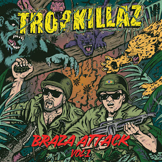 Tropkillaz - Braza Attack, Vol. 1 (EP) (2016) - Album Download, Itunes Cover, Official Cover, Album CD Cover Art, TracklistAlbum Download, Itunes Cover, Official Cover, Album CD Cover Art, Tracklist