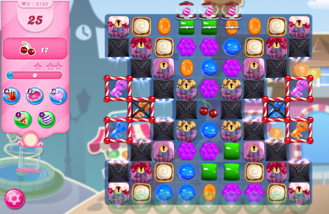 Candy Crush Saga level 5782