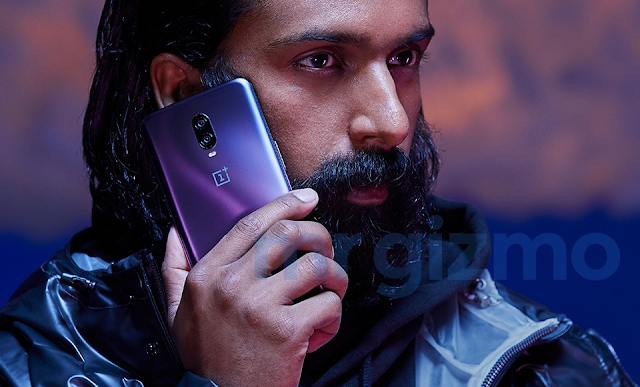 Here's the OnePlus 6T in Thunder Purple