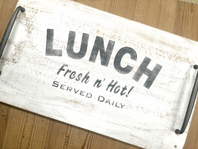 A Junkers Kind of Lunch Tray