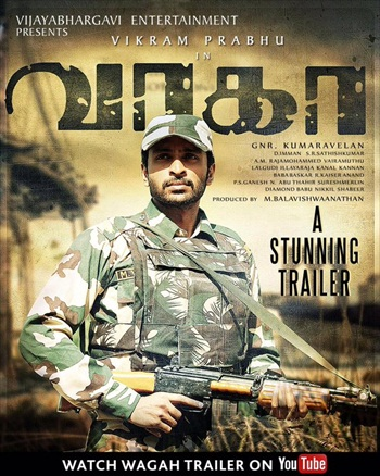 Wagah 2016 UNCUT Dual Audio Hindi 480p HDRip 350MB