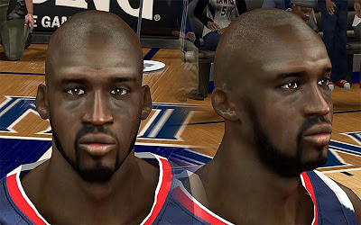 NBA 2K13 Johan Petro Cyberface Patch