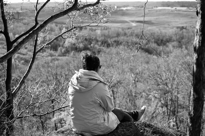 Overlooking Rattlesnake Conservation Area, Ontario