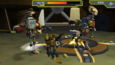 Download Ratched And Clank Size Matters PSP PPSSPP
