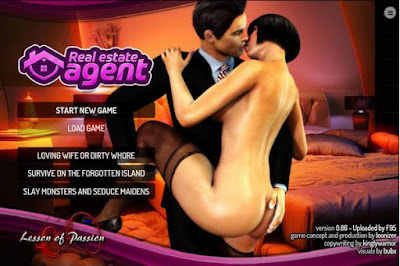 Real Estate Agent, Porn game for Pc, Lesson of passion