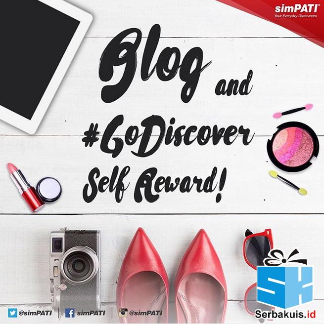 Kontes Blog Self Reward Berhadiah Pulsa Jutaan Rupiah
