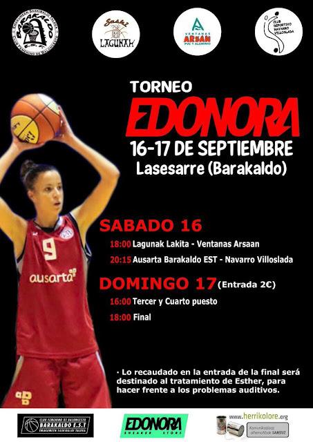 Baloncesto | Barakaldo EST juega en septiembre su torneo con equipos de Navarra y Cantabria