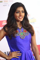 Eesha in Cute Blue Sleevelss Short Frock at Mirchi Music Awards South 2017 ~  Exclusive Celebrities Galleries 049.JPG