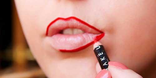 Como maquillarse los labios paso a paso